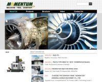 WEB957網站設計, 網頁設計-momentum機械