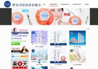 WEB957網站設計, 網頁設計-皂妃肌